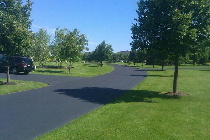 residential driveway sealing