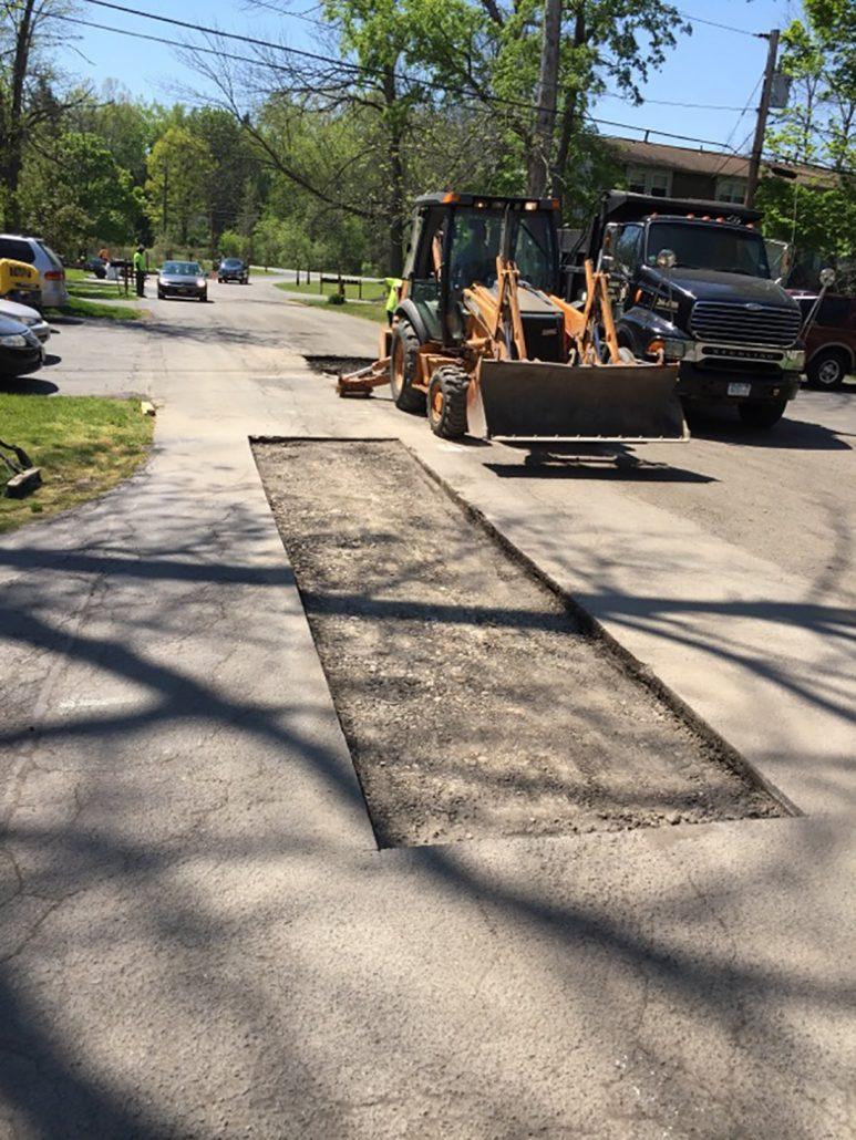 asphalt removal