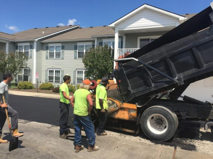 commercial paving contractors rochester