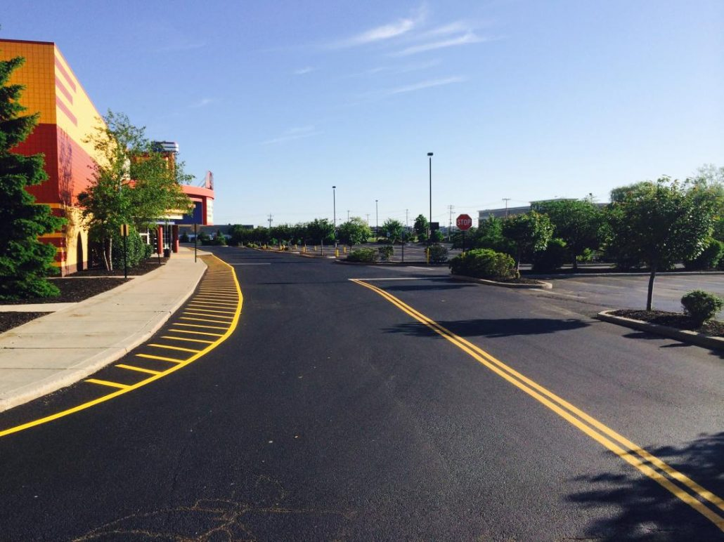Striping And Pavement Marking Northeastern Sealcoat